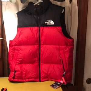 NWT The North Face Mens Nuptse vest large
